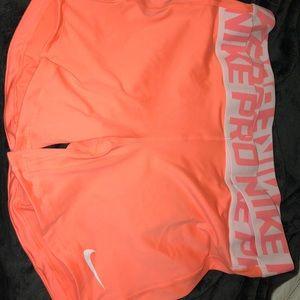 Nike Pro Tight Fit Shorts